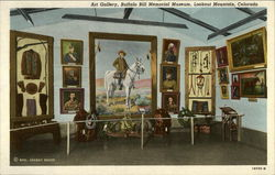 Art Gallery, Buffalo Bill Memorial Museum