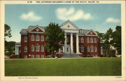 The Lutheran Children's Home of the South Postcard