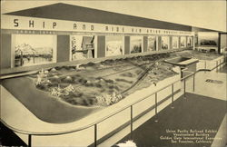 Union Pacific Railroad Exhibit, Vacationland Building, Golden Gate International Exposition