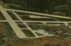 Aerial view of Kanawha Airport