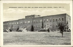Government Hospital Postcard