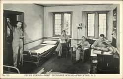 Study Period, Army Exchange School
