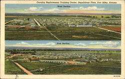 Cavalry Replacement Training Center, Republican Flats