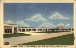 Kuilman's Motel - On Highway 10, East Main Ave. at 20th - Bismark, ND