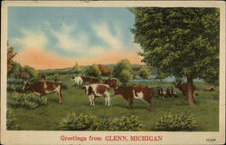 Greetings From Glenn, Michigan