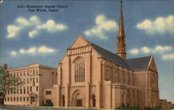 Broadway Baptist Church Postcard
