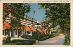 Bath House Row and Promenade, Hot Springs National Park