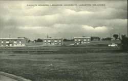 Faculty Housing, Langston University, Langston, Oklahoma