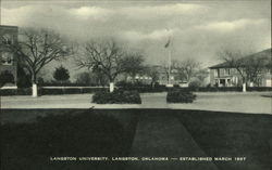 Langston University, Established March 1897