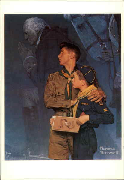 Our Heritage Norman Rockwell Art Boy Scouts