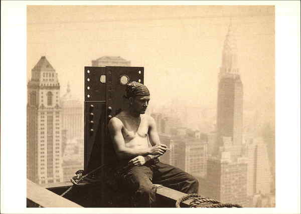 A Break from Work Lewis Hine Photographic Art