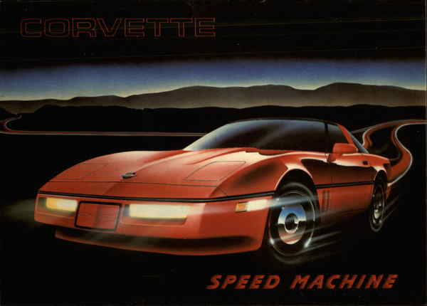 Corvette Stingray: Speed Machine Cars