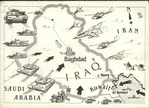 an overview of the 1990s war in the persian gulf war The gulf war started on august 2, 1990 when the forces of iraqi dictator saddam map of the persian gulf the gulf war was the first american conflict.