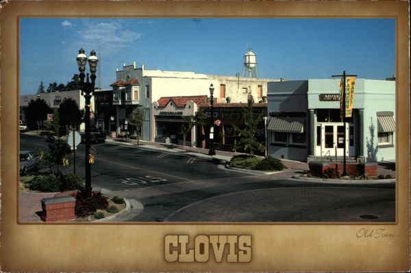 Old Town Clovis California