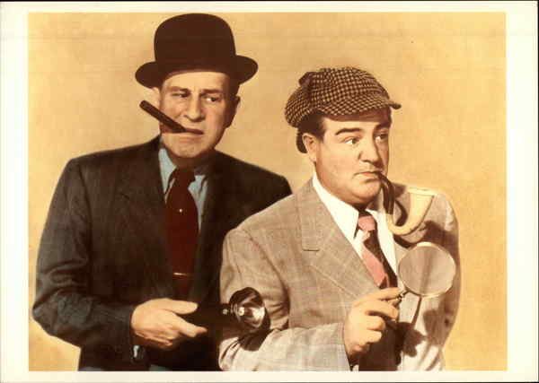 Abbot & Costello (William Abbott, 1895-1974, and Louis Cristillo, 1906-59)