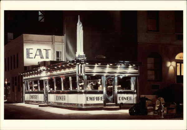 Empire Diner, 1976 John Baeder Pop Art