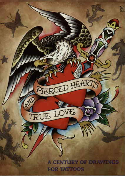 pierced hearts and true love pop art