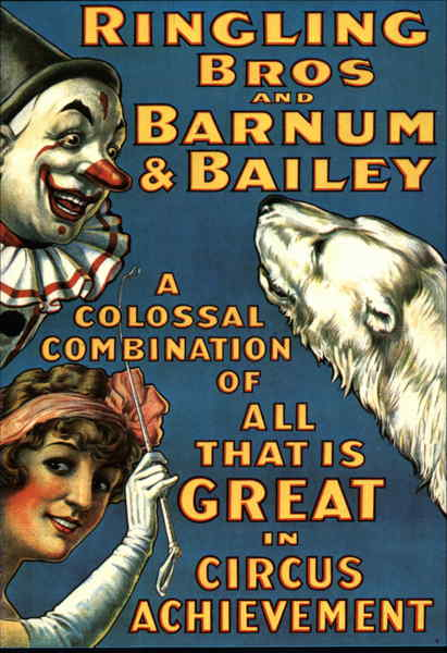 Ringling Bros and Barnum & Bailey Advertising Reproductions