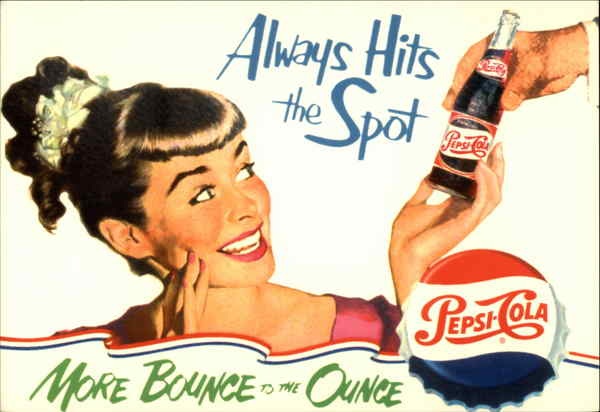 Always Hits the Spot: Pepsi Cola Advertising Reproductions