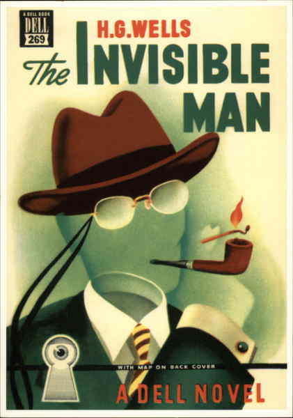1949: THE INVISIBLE MAN Gerald Gregg Advertising Reproductions