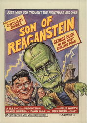Son of Reaganstein, George Bush in his most Chilling Role