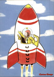 Curious George Takes Off Into Space