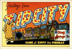 Greetings from Zip City: Wish You Were Here