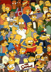 The Simpsons - Simpsons all of Springfield