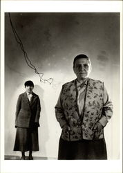 Gertrude Stein and Alice B. Toklas, 1930's