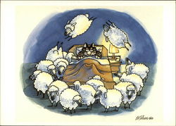 Cat Counting Sheep