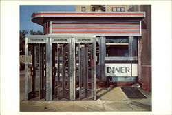 Diner, 1971 (Oil on Canvas)