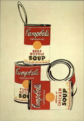 4 Campbell's Soup Cans, 1962