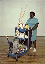 Cleaning Woman (Queenie) 1980