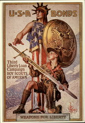 Third Liberty Loan Campaign, Boy Scouts of America
