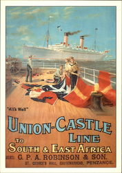 All's Well: Union Castle Line to South and East Africa