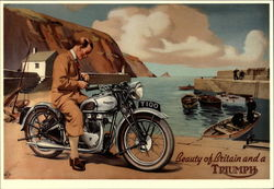 Triumph T100: Beauty of Britain and a Triumph