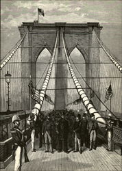 The Opening of the Brooklyn Bridge, May 24, 1883
