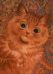 Ginger Cat (Reproduction)