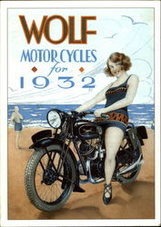 Wolf Motorcycles for 1932