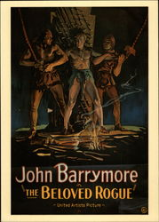 "John Barrymore in ""The Beloved Rogue"""