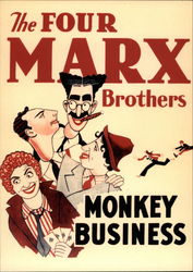 The Four Marx Brothers, Monkey Business