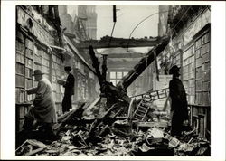 Library After Air Raid, London 1940