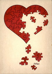 "Illustrateurs ""Heart Puzzle"""