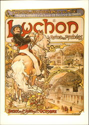 Alphonse Mucha, Lucho, La Reine des Pyrences (Luchon Queen of the Pyrenees), c. 1896