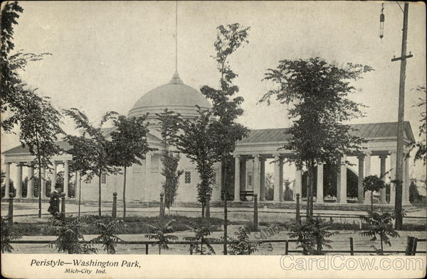 Peristyle - Washington Park Michigan City Indiana