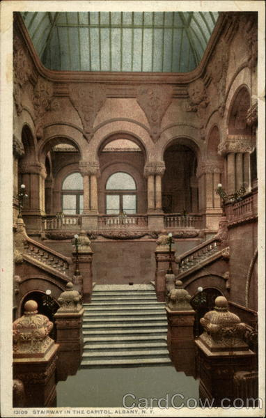 Stairway in the Capitol Albany New York