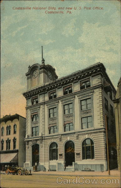 Coatesville National Building and new U.S. Post Office Pennsylvania