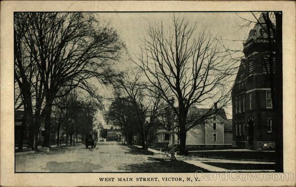 West Main Street Victor New York