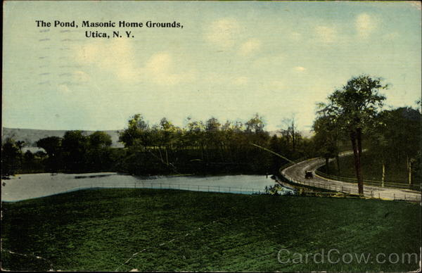 The Pond, Masonic Home Grounds Utica New York Freemasonry