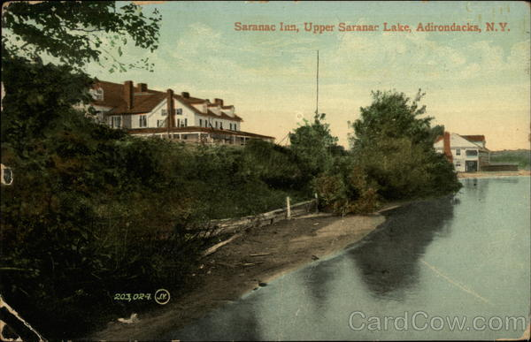 Saranac Inn, Upper Saranac Lake New York